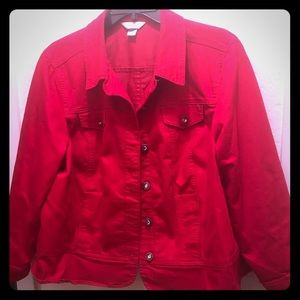 Candy 🍎 red jacket!